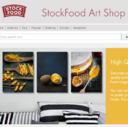 Unique posters and gifts from the new StockFood Art Shop quick and easy to order online